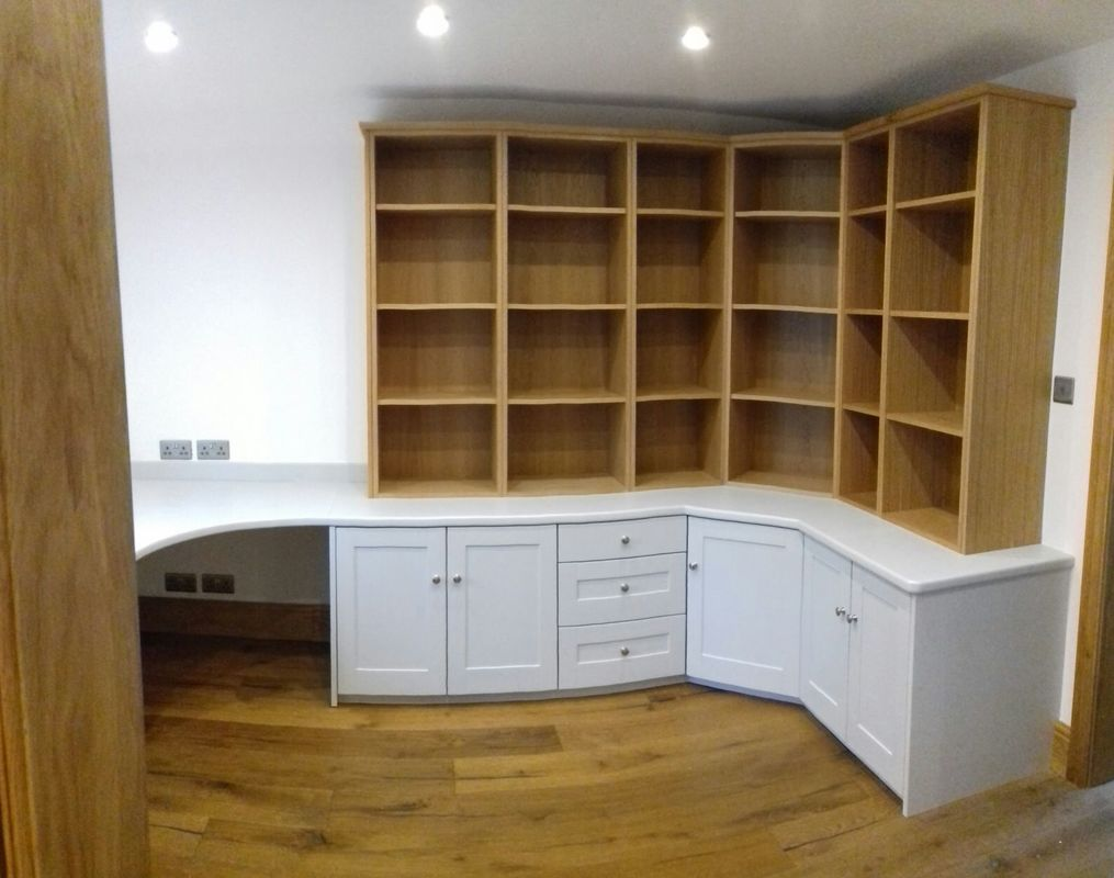 Bespoke Shaker Style Home Office Castle Donnington